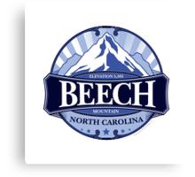 Beech Mountain North Carolina Canvas Print