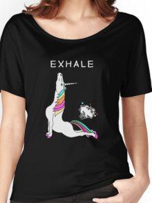 Unicorn yoga - teacher Women's Relaxed Fit T-Shirt