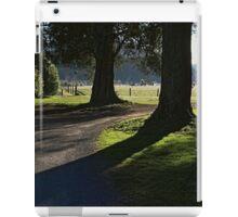Serenity of old trees iPad Case/Skin