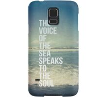 The Voice Of The Sea Samsung Galaxy Case/Skin