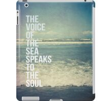 The Voice Of The Sea iPad Case/Skin