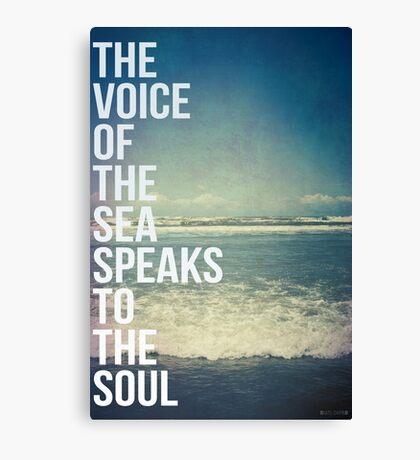 The Voice Of The Sea Canvas Print