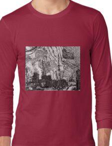 Gull and Sky Long Sleeve T-Shirt