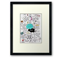 The Fault in Our Stars - ORIGINAL ARTIST Framed Print