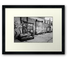 Relax, Take a Seat Framed Print