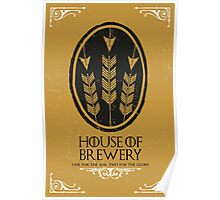 HOUSE OF BREWERY Poster