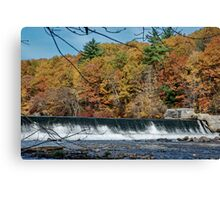 The Dam Canvas Print