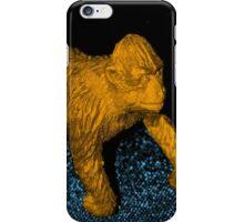 Orange Gorilla Party Design iPhone Case/Skin