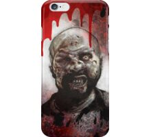 Blood Splatter Zombie iPhone Case/Skin