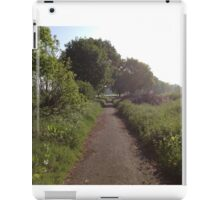 Sunshine On Footpath In The Countryside iPad Case/Skin