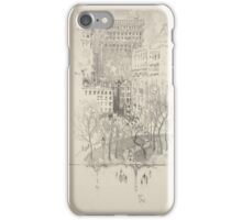 281 Lithographs of New York in 1904 Union Square iPhone Case/Skin