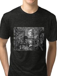 Lucy Rests In The Swelling Darkness Tri-blend T-Shirt