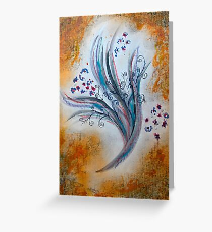 Bouquet by 'Donna Williams' Greeting Card