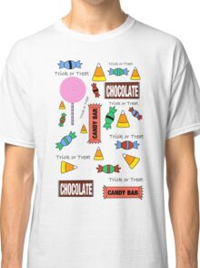 Halloween Candy Explosion Classic T-Shirt