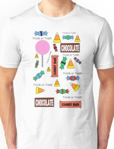 Halloween Candy Explosion Unisex T-Shirt