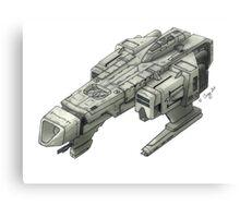 Concept Ship 'Kurai Sora' Canvas Print
