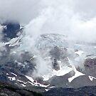 Clouds over the Alaskan range ! by Nancy Richard
