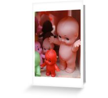 Cupies by 'Donna Williams' Greeting Card