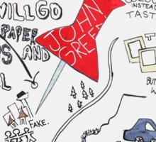 Paper Towns Sticker