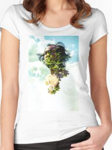 Life in Layers 1 Women's Fitted Scoop T-Shirt