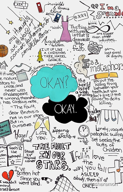 the fault in our stars analysis essay 'the fault in our stars': love in a time of cancer two terminally ill teenagers fall in love in this sensitive, surprisingly heartening young-adult novel that asks big questions with gravity, and approaches tragedy with humor and heart.