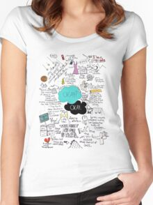 The Fault in Our Stars - ORIGINAL ARTIST Women's Fitted Scoop T-Shirt