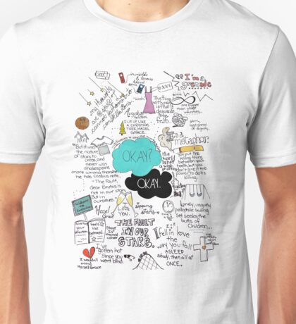 The Fault in Our Stars - ORIGINAL ARTIST Unisex T-Shirt