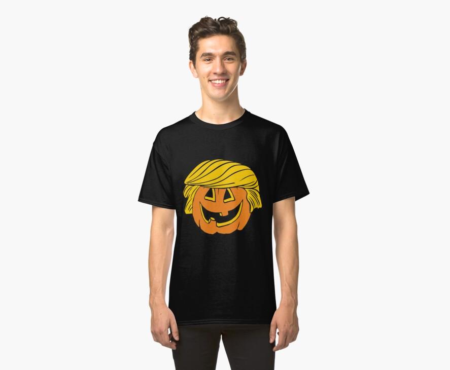 Trump Pumpkin Hellowen by adeliaadelaide