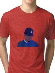 Chance The Rapper Coloring Book Album Minimalist Art Tri-blend T-Shirt