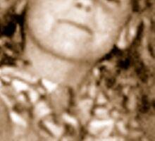 'Donna Williams' aged 6 Sticker