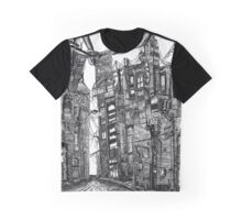 Bright Dark Alley, on A Cold Winter's Night Graphic T-Shirt