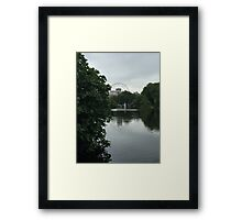 Beautiful view of the London eye Framed Print