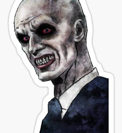 Gentlemen illustration Sticker