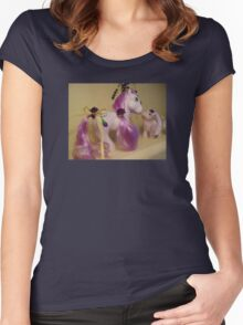 Mother and Baby Lavender Women's Fitted Scoop T-Shirt