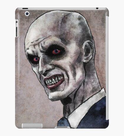 Gentlemen illustration iPad Case/Skin