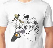 Spoopy Halloween Mashup Unisex T-Shirt