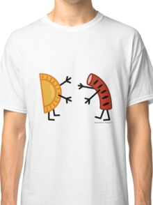 Pierogi & Kielbasa - Funny Friendly Foods Classic T-Shirt