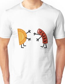 Pierogi & Kielbasa - Funny Friendly Foods Unisex T-Shirt