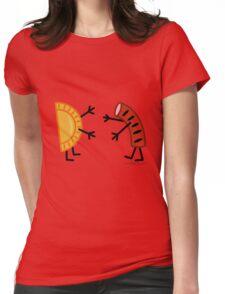Pierogi & Kielbasa - Funny Friendly Foods Womens Fitted T-Shirt