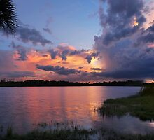 stormy sunset by cliffordc1