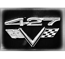 427 Emblem Photographic Print