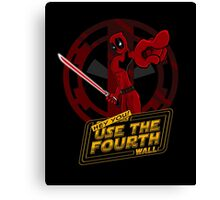 Use The Fourth Wall Canvas Print