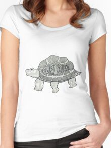 Curtoise Women's Fitted Scoop T-Shirt