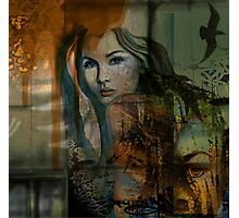 Rust Angel Photographic Print