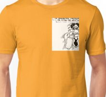 Barometric Pressure Begins to Tell on Stan the Wetherman Unisex T-Shirt