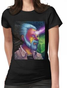 Phillip K. Dick Portrait Womens Fitted T-Shirt