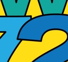 Super Funky W72 T-Shirt Sticker