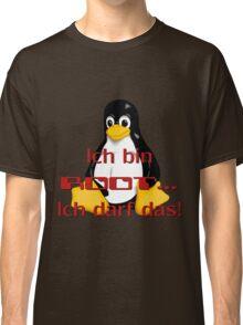 Ich bin Root ich darf das. Classic T-Shirt