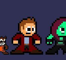 8-bit Guardians of the Galaxy by 8 Bit Hero