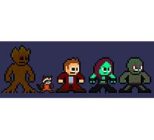 8-bit Guardians of the Galaxy Photographic Print